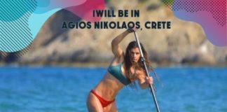 Agios Nikolaos on SUP